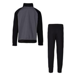 Boys 4-7 Nike Raglan Zip Track Jacket & Pants Set