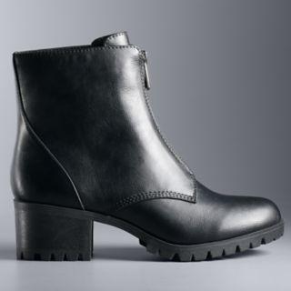 Simply Vera Vera Wang Heron Women's High Heel Ankle Boots