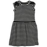Toddler Girl Carter's Print Bow-Shoulder Dress