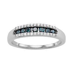 10kt White Gold 3/8 Carat T.W. Diamond Ring