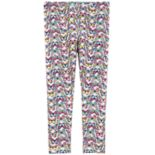 Toddler Girl Carter's Print Full-Length Leggings