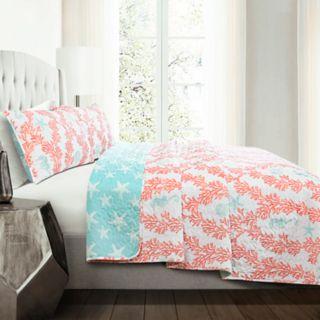 Lush Decor Dina 3-piece Quilt Set