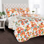 Lush Decor Weeping Flower 3-piece Quilt Set