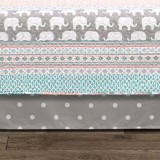 Lush Decor Elephant Stripe 6-piece Daybed Cover Set