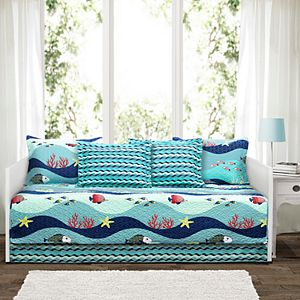 Lush Decor Sealife 6-piece Daybed Cover Set