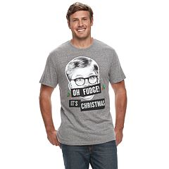 Big & Tall A Christmas Story Ralphie 'Oh Fudge! It's Christmas' Graphic Tee