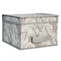 Laura Ashley Lifestyles Palm Leaf Large Storage Box