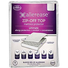 AllerEase Ultimate Waterproof Zip-Off Top Mattress Protector