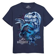 c2e2aa597 Boys 8-20 Glass Jurassic World Tee