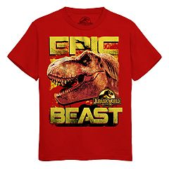 Boys 8-20 Jurasic World Epic Beast Tee