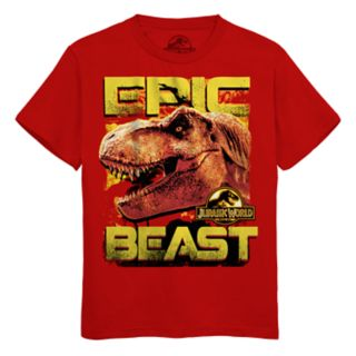 Boys 8-20 Jurasic World Epic Beast Tee