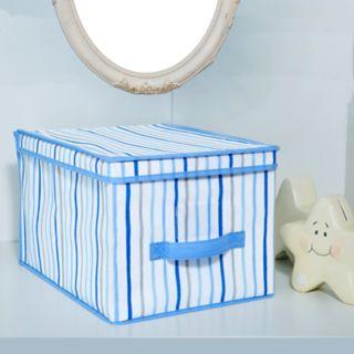 Laura Ashley Lifestyles Painterly Stripe Large Storage Box