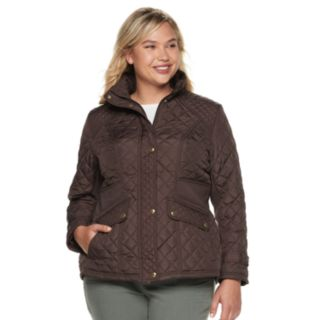Plus Size Weathercast Quilted Barn Jacket