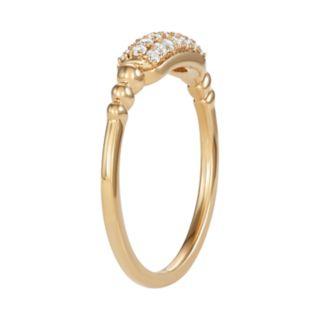 10kt Gold 1/5 Carat T.W. Diamond Ring