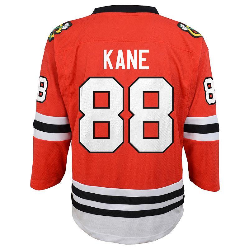 Boys 8-20 Chicago Blackhawks Patrick Kane Replica Jersey. Boy's. Size: Small/Medium. Red