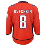 Boys 8-20 Washington Capitals Alexander Ovechkin Replica Jersey