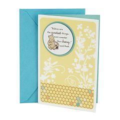 Hallmark Baby 'Winnie the Pooh' Greeting Card