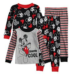 Disney's Mickey Mouse Toddler Boy Top & Bottoms Pajama Set