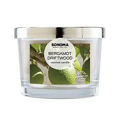 SONOMA Goods for Life™ Bergamot & Driftwood 5-oz. Candle Jar
