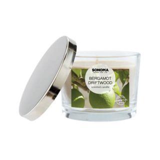 SONOMA Goods for Life? Bergamot & Driftwood 5-oz. Candle Jar