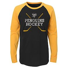 Boys 4-18 Pittsburgh Penguins Hockey Sticks Tee