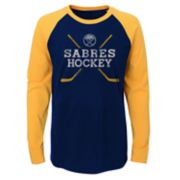 Boys 4-18 Buffalo Sabres Hockey Sticks Tee
