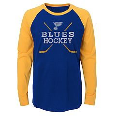 ceb329d3d26 Boys 4-18 St. Louis Blues Hockey Sticks Tee