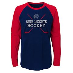 Boys 4-18 Columbus Blue Jackets Hockey Sticks Tee