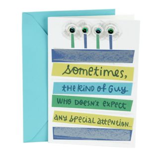 "Hallmark Birthday ""Extra Attention"" Greeting Card for Him"