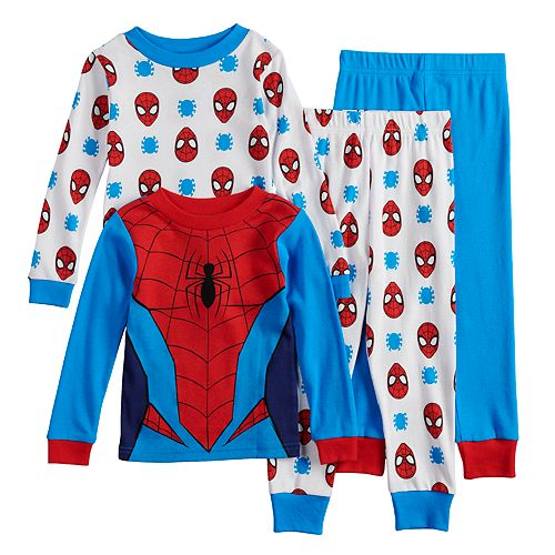 Marvel Spider-Man Fleece Sleep Set for Boys