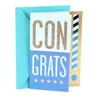 "Hallmark Congratulations ""Exciting"" Greeting Card"