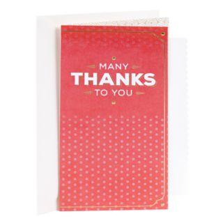 "Hallmark Thank You ""You're Appreciated"" Greeting Card"