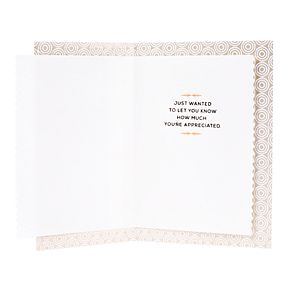 "Hallmark Thank You ""You're Appreciated"" Greeting Card"