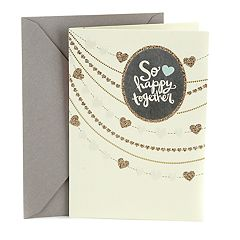 Hallmark Wedding 'Strings of Hearts' Greeting Card
