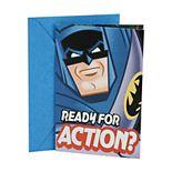 """Hallmark Birthday Greeting Card """"Batman"""" Kids Greeting Card"""