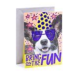 """Hallmark Birthday """"Birthday Dog"""" Greeting Card"""