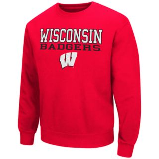 Men's Wisconsin Badgers Fleece Sweatshirt