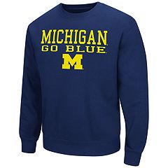 Men's Michigan Wolverines Fleece Sweatshirt