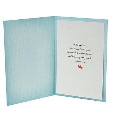 "Hallmark Everyday ""Love Note"" Greeting Card"