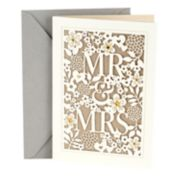 "Hallmark Wedding ""Mr. & Mrs."" Greeting Card"