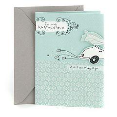 Hallmark Wedding Shower 'Get-Away Car' Greeting Card