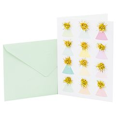 Hallmark Signature Birthday 'Party Hats' Greeting Card