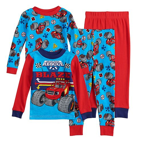 f9d56225dc Toddler Boy Blaze   The Monster Machines Tops   Bottoms Pajama Set