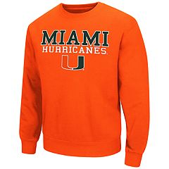 Men's Miami Hurricanes Fleece Sweatshirt