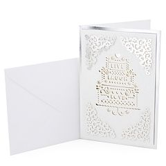 Hallmark Signature Wedding 'Live Laugh Love' Greeting Card