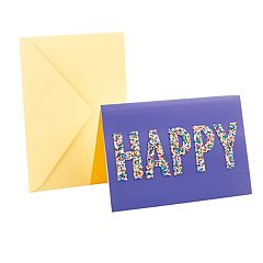 Hallmark Signature Birthday 'Happy Sprinkles' Greeting Card