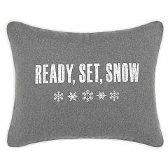 Eddie Bauer 'Ready Set Snow' Breakfast Throw Pillow