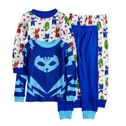 97d0bdee Toddler Boy PJ Masks Catboy, Gekko & Owlet Tops & Bottoms Pajamas