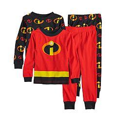 Disney / Pixar Incredibles 2 Toddler Boy 4-piece Pajamas Set