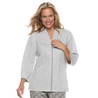 Women's Croft & Barrow® Quilted Bed Jacket